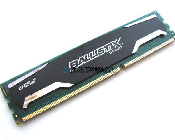 Оперативная память Crucial CRUCIAL BALLISTIX SPORT 4GB PC3-12800U DDR3-1600MHZ SDRAM UDIMM (BLS4G3D1609DS1S00.16F)