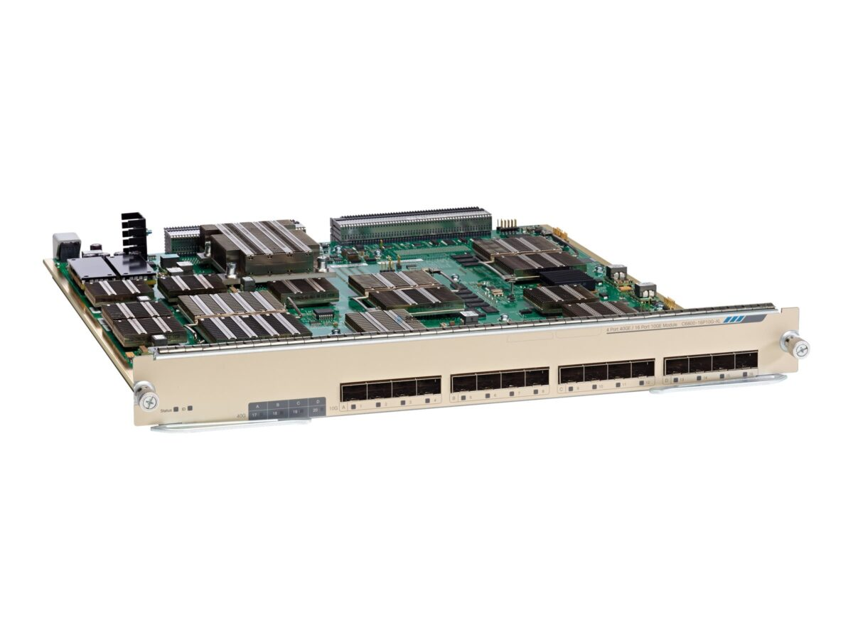 Модуль Cisco CISCO Cisco Excess - Cisco Catalyst 6800 16 port (C6800-16P10G)
