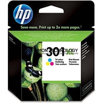HP 301XL - Tintenpatrone Original - Cyan, Magenta, Yellow - 6 ml (CH564EE#UUS)