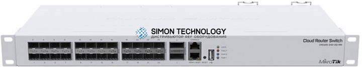 Коммутаторы MikroTik Mikrotik Cloud Router Switch (CRS326-24S+2Q+RM )