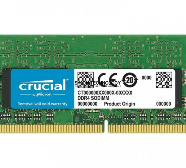 Оперативная память Crucial 8GB DDR4 2666MHz SODIMM Memory (CT8G4SFS8266)