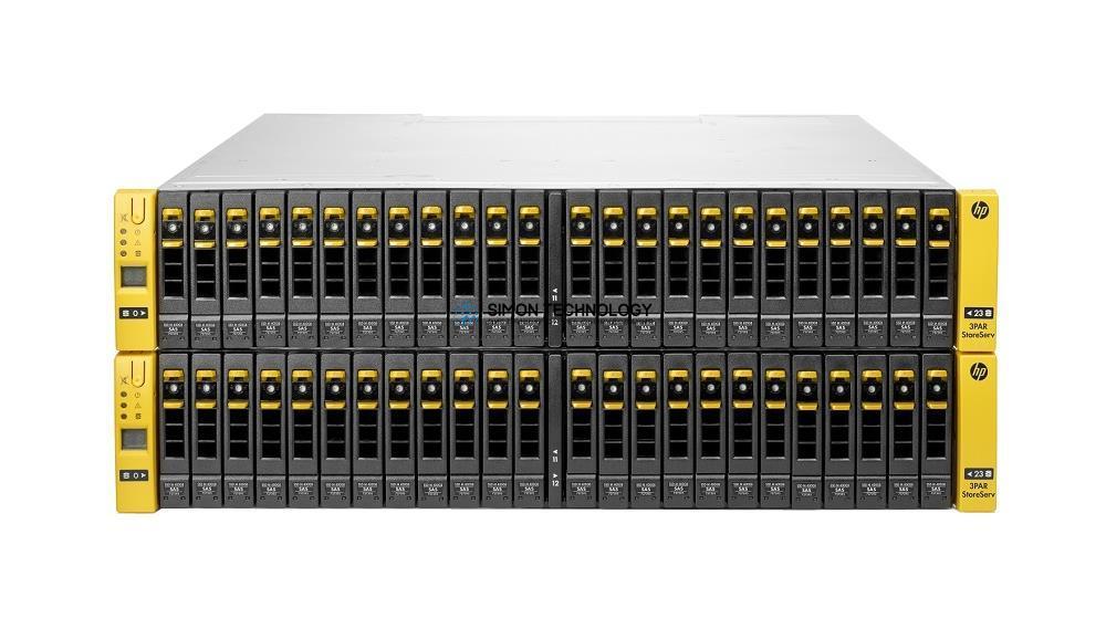 СХД HP 3PAR SAN Storage StoreServ 7400c 4N Base FC 8Gbps 48x SFF w/ 25 Lic 96 Disk (E7X75A)