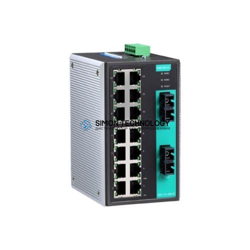 Коммутаторы MOXA Moxa Industrial Unmanaged Ethernetswitch (EDS-316-S-SC-T)