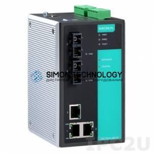 Коммутаторы MOXA Moxa Industrial Managed Redundant Ethernetswitch (EDS-505A-SS-SC)