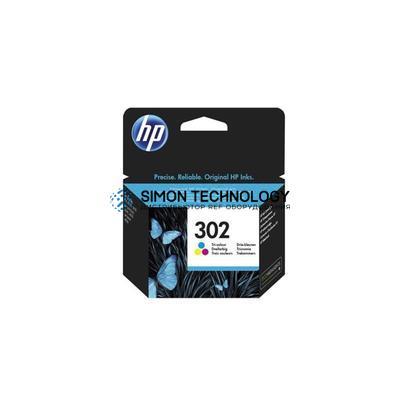 HP 302 - Tintenpatrone Original - 3-/4-Farb-Patrone - 4 ml (F6U65AE#301)