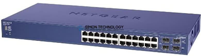 Коммутаторы Netgear Switch ProSafe V1H1 24x 1GbE 4x SFP (GS724TS)