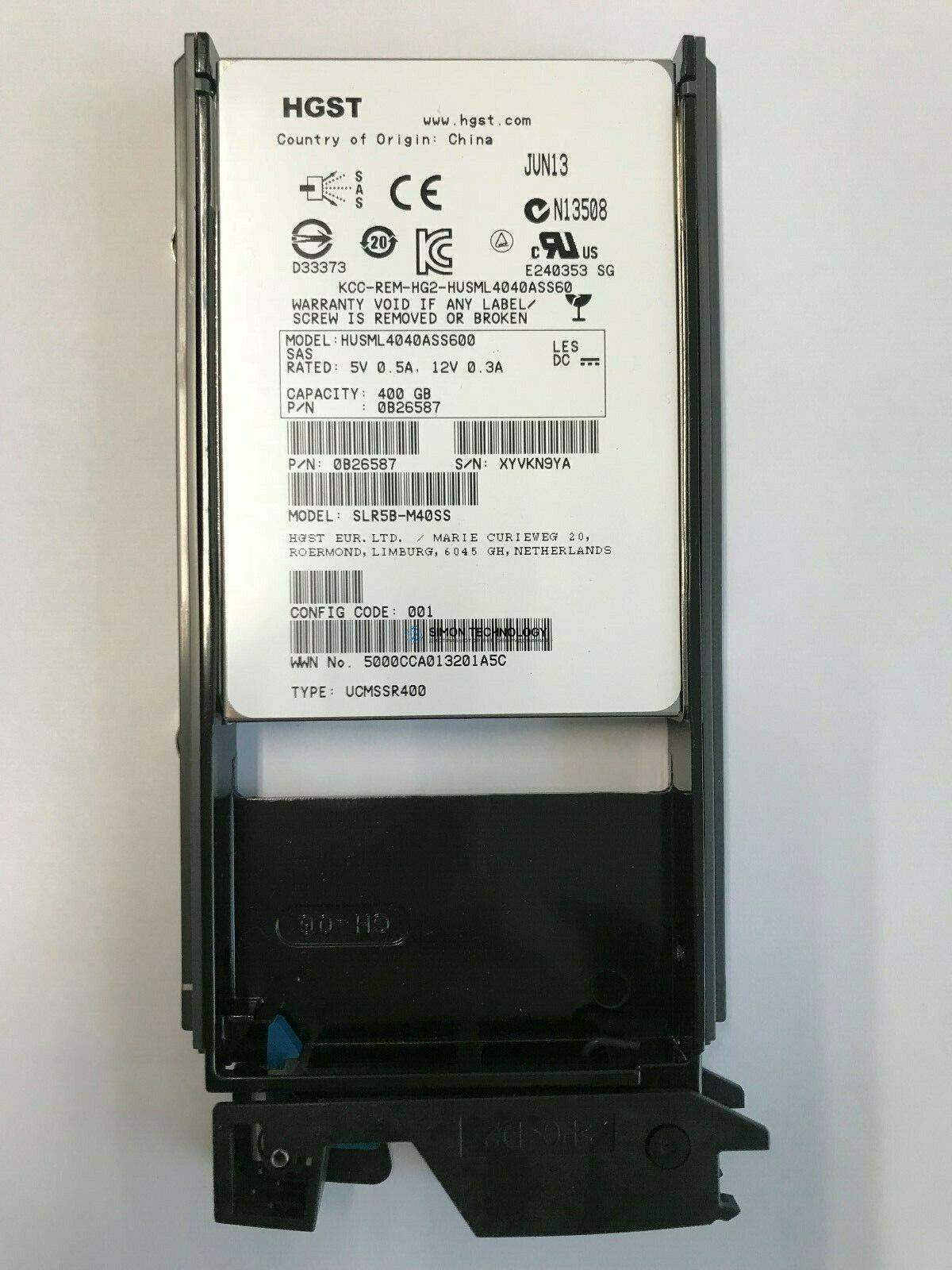 HDS HDS VSP G 6TB 7.2K SAS 3.5 (H6R0SS)