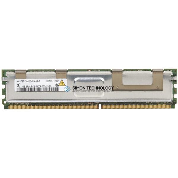 Оперативная память Qimonda 1GB 2RX8 PC2-5300F-555-11-B0 (HYS72T128420HFA)