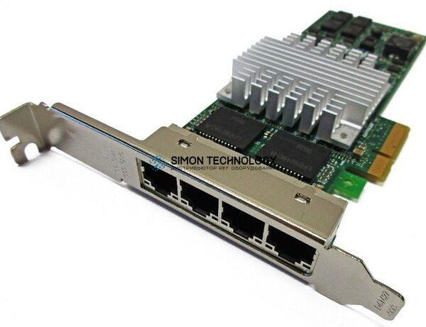 Контроллер IBM INTEL I340-T4 QUAD-PORT ETHERNET ADAPTER - HIGH PROF BRKT (I340-T4-HP)