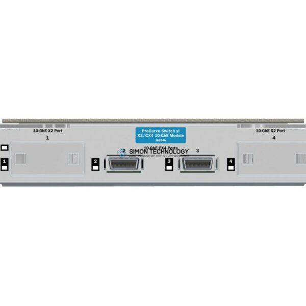 Модуль HPE HPE 10GbE 2-port X2/2-port CX4 yl Mod (J8694-61101)