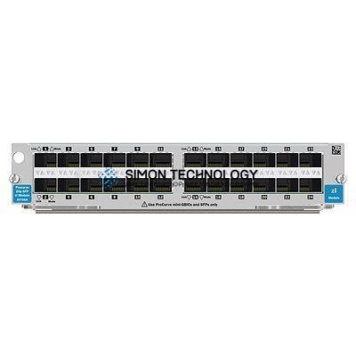 Коммутаторы HPE HPE 24-port Mini-GBIC zl Module (J8706-61201)