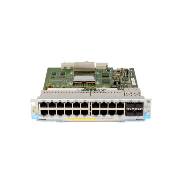 Модуль HPE HPE SU.20-port GT PoE+/4-port SFP v2 zl Mod (J9535-61201)