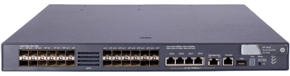 Коммутаторы HP HPE 5820-24XG-SFP+ Switch (JC102-61101)