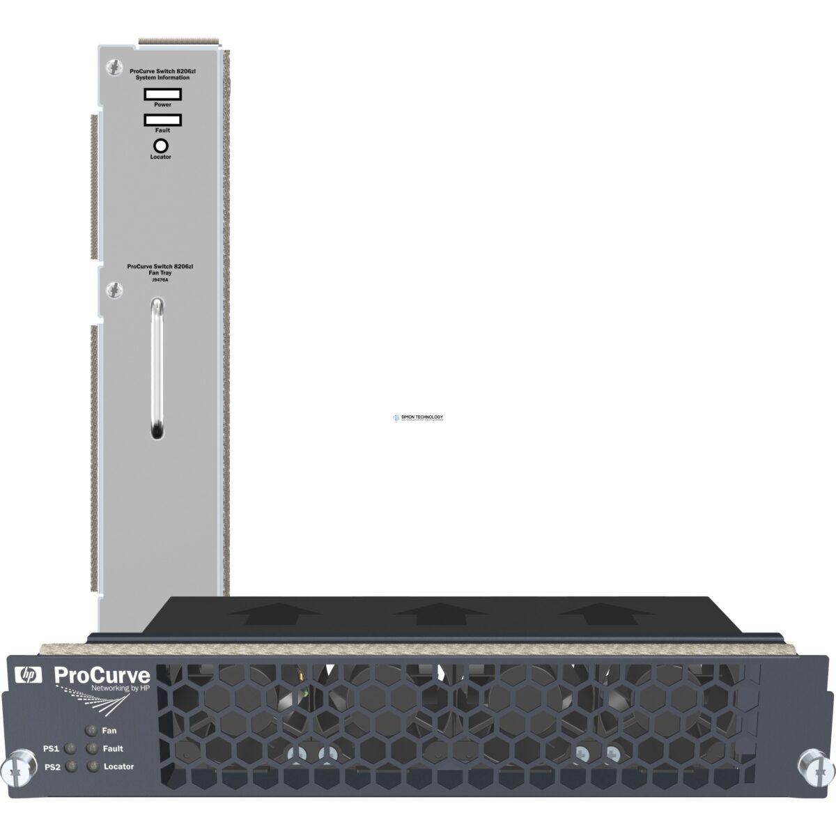 Система охлаждения HPE HPE 10512 Spare Bottom Fan Tray Assy (JC773-61201)