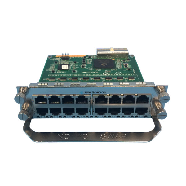 Модуль HPE HPE SP A-MSR 16-port Async Serial SIC Module (JG186-61301)