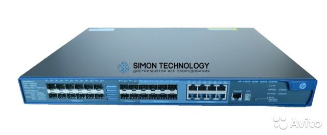 Коммутаторы HPE HPE A5500-24G-SFP EI TAA Switch w 2 Slts (JG249-61001)
