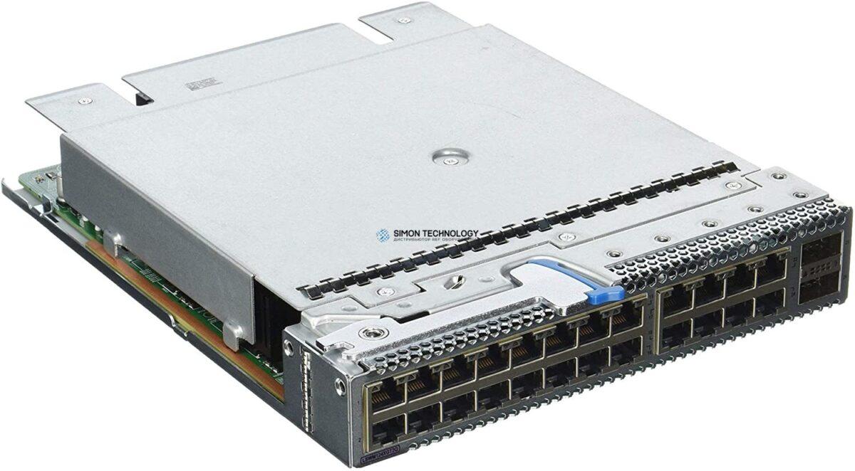 Модуль HPE HPE SU 5930 24p 10GBase-T and 2p QSFP+ Mod (JH182-61001)