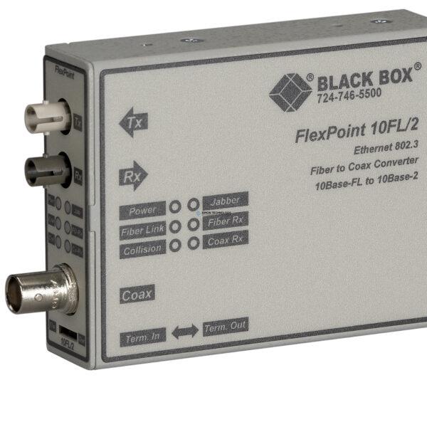 Адаптер Black Box Black Box FLEXPOINT 10BFL/BNC ConVerter(MM/ST) (LMC211A-MM)