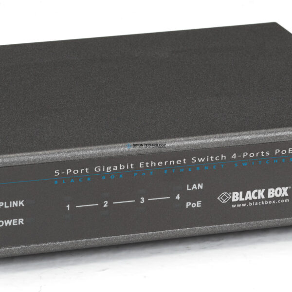 Коммутаторы Black Box Unmanaged 802.3af PoE Gigabit Ethernet (LPB1205A)