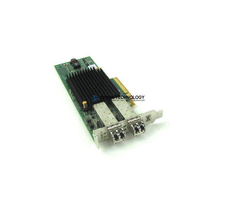 Контроллер Dell LPE12002 8GB DUAL CHANNEL PCI-E FC HBA LOW PRO BRKT (LPE12002-DELL-LP)