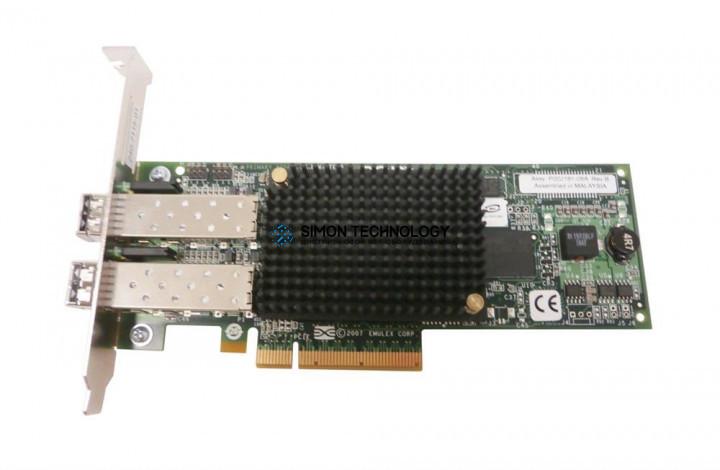 Контроллер EMC HBA 2P 8Gb FC PCI-Express 2.0 (LPE12002-E)