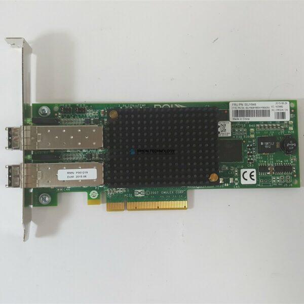Контроллер IBM EMULEX LPE12002 DUAL PORT 8GB FC HBA - LOW PROF BRKT (LPE12002-IBM-LP)
