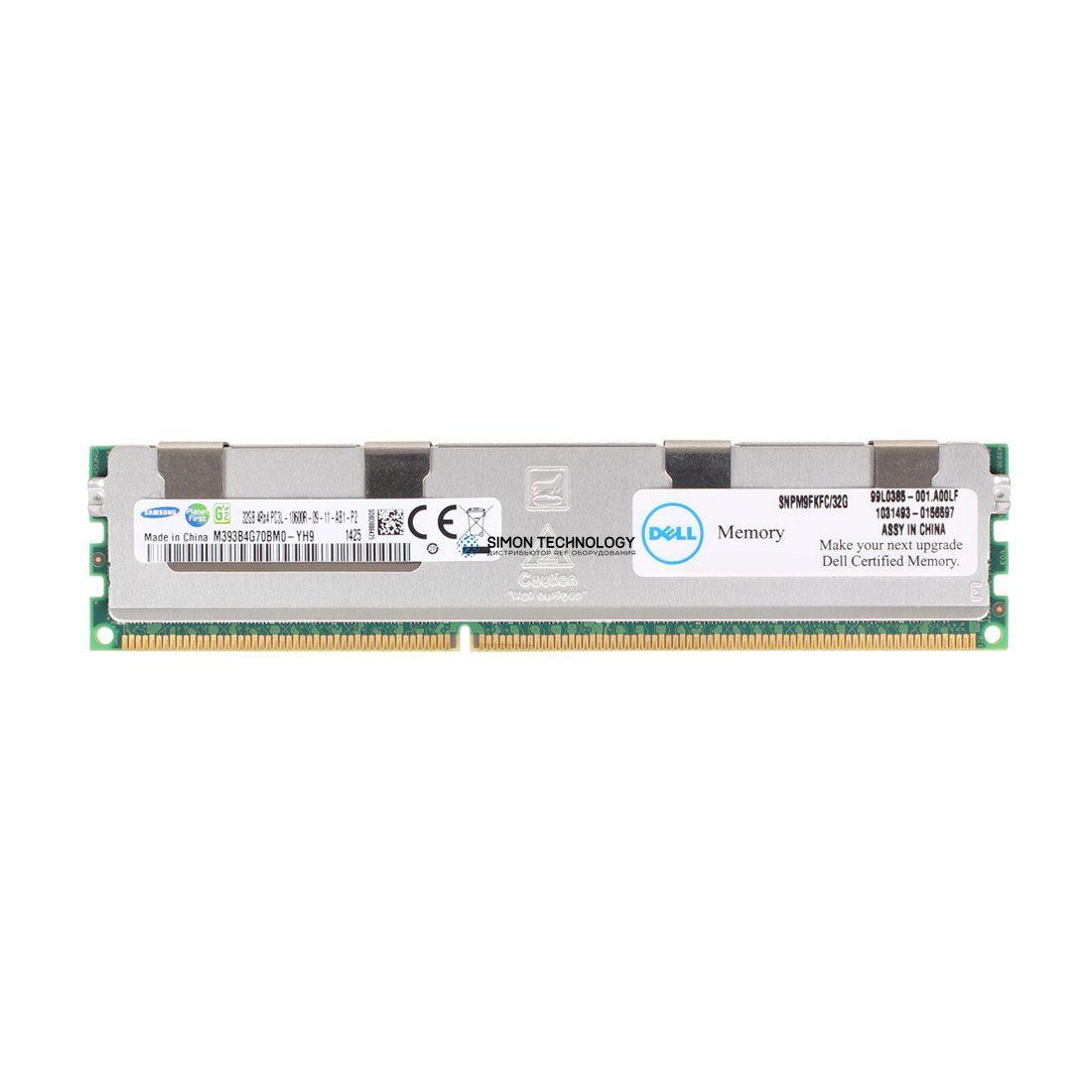 Оперативная память Samsung DELL 32GB DDR3 1333MHz 4Rx4 1.35V RDIMM (M9FKF-OEM)