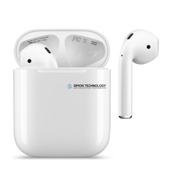 Apple AirPods (2019) with Charging Case - 2nd Gen (MV7N2ZM/A)