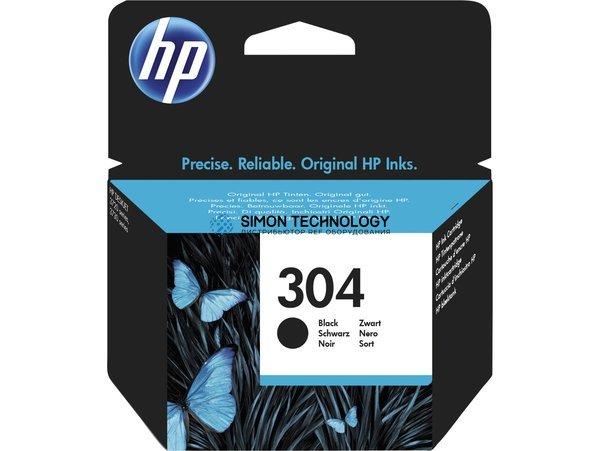HP 304 - Schwarz - Original (N9K06AE#UUS)