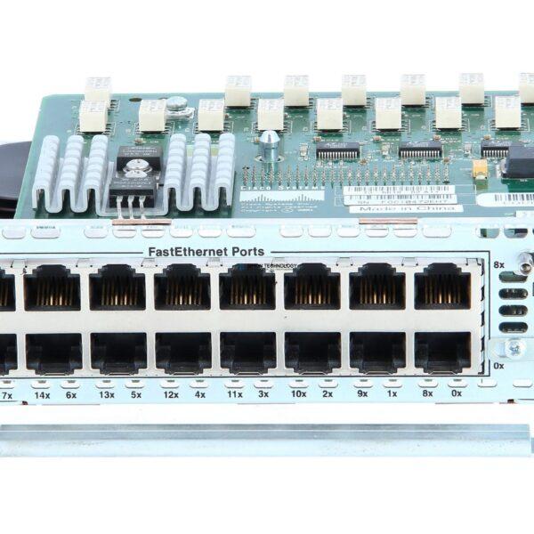 Модуль Cisco CISCO 16-PORT 10/100 ETHERNET NETWORK MODULE (NM-ESW-16)