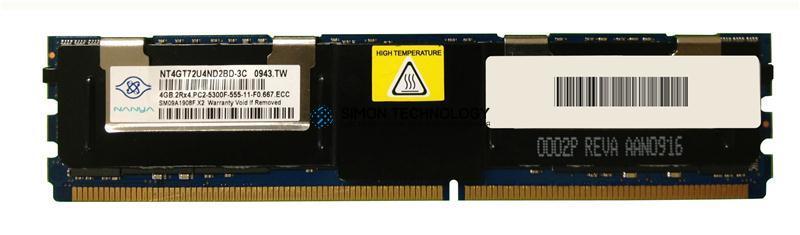 Оперативная память Nanya DELL Nanya 4GB DDR2 667MHz 2Rx4 FB DIMM (NT4GT72U4ND2BD-3C)