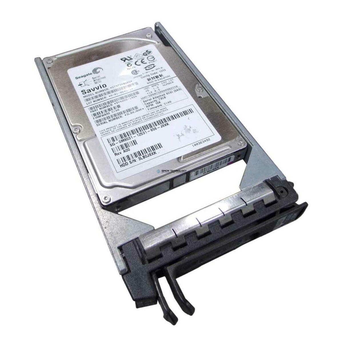 HPE 73GB 10K COM. Tray DR. (P3578-69001)