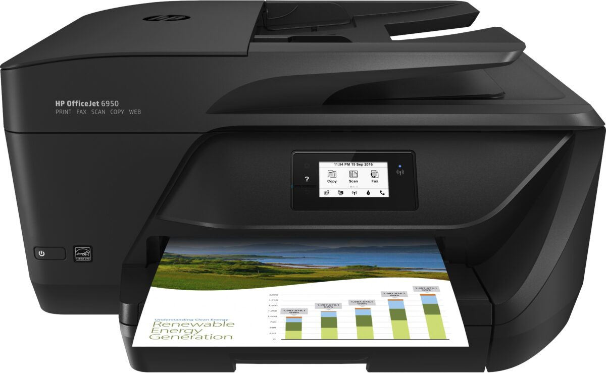 HP Officejet 6950 All-in-One - Multifunktionsdrucker - Farbe (P4C85A#BHC)