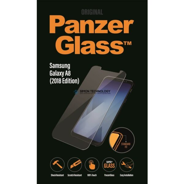 Аксессуар PanzerGlass PanzerGlass Sam g Galaxy A8 (2018), Black (PANZER7141)