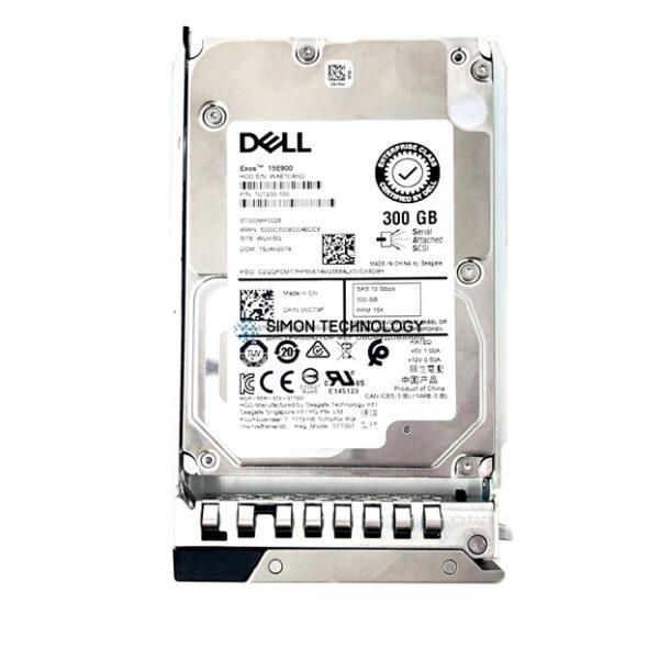 """Dell Dell HDD 300GB 2.5"""" 15K SAS 12gb/s 512n (PDNT1)"""