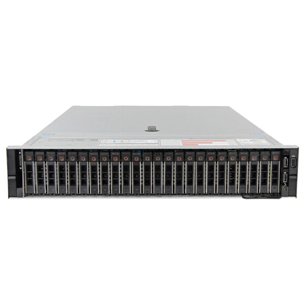 "Сервер Dell PowerEdge R740XD Rack Server 2U, Up to 2 CPUs, 24 DIMM slots, 24 x 2,5"" HDD bays, 4x2.5"" Midbay, 4x2.5"" RearBay, (PER740XD Base - 24bay)"