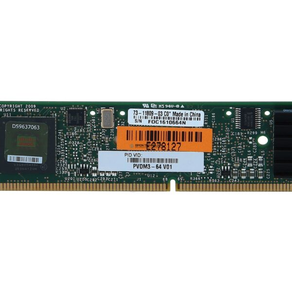 Cisco CISCO 64-channel high-density voice DSP module (PVDM3-64)