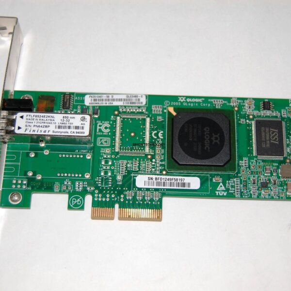 Контроллер EMC 4GB PCIE SINGLE PORT FC HBA (QLE2460-E)