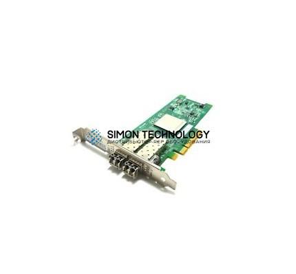 Контроллер Dell 8GB DUAL PORT FIBRE CHANNEL PCI-E HBA (QLE2562-DELL)