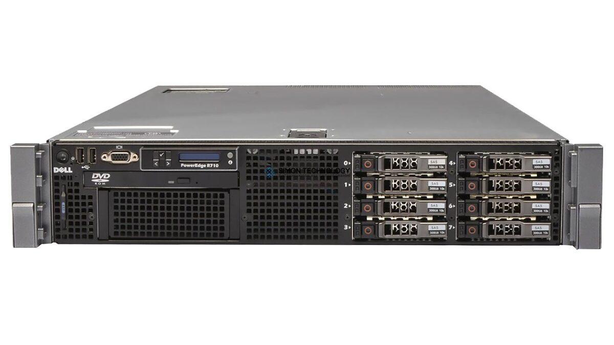 Сервер Dell R710 CTO with 8 SFF bays (R710-8SFF)