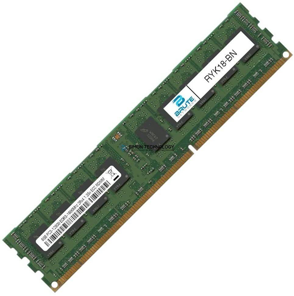 Оперативная память Dell DELL 8GB DDR3 1600MHz 2Rx4 1.5V RDIMM (RYK18-OEM)