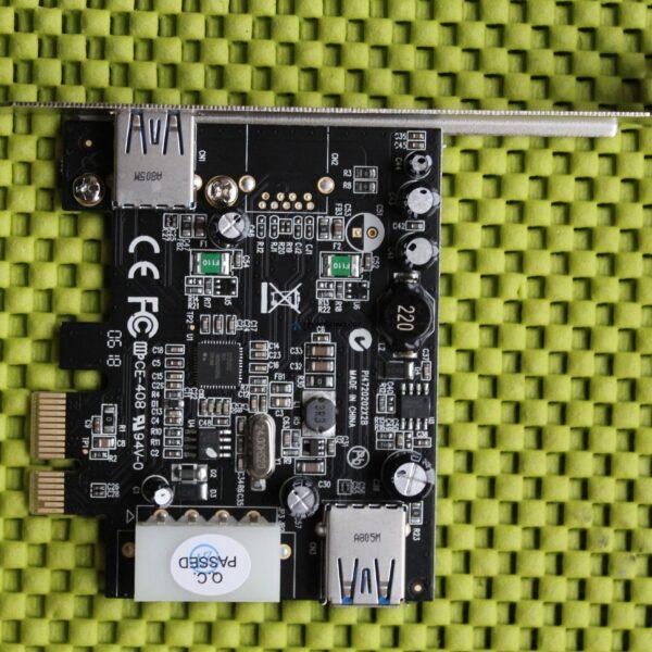 Контроллер Fujitsu USB 3.0 Interface Card D3305 PCI-e 2.0 x1 (S26361-D3305-A10)
