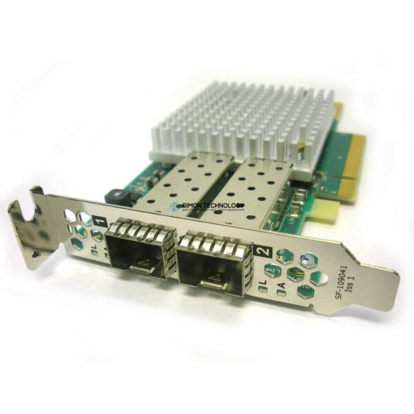 Контроллер Solarflare Communications, Inc. DUAL PORT 10GB HALF HEIGHT FIBER NIC (S6102)