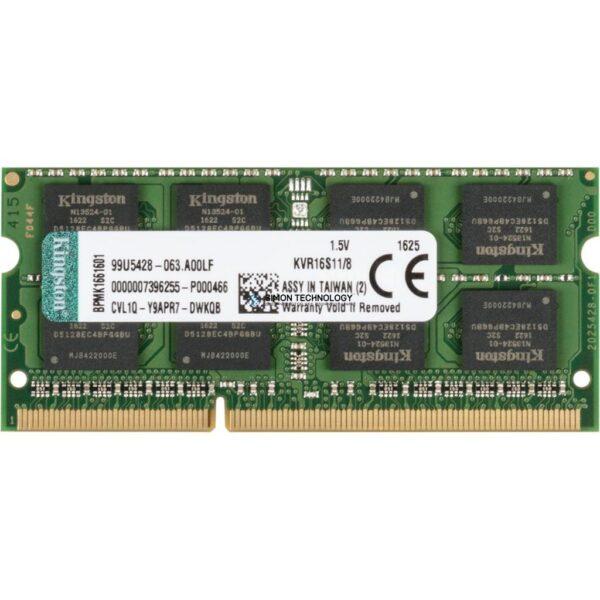 Оперативная память Kingston 8GB DDR3 PC3L-12800 1600MHz (SD-DDR3-8GB-001)