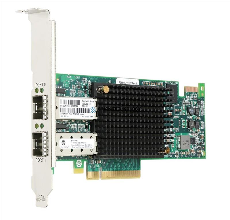 Контроллер HP SN1100E 16GB DUAL PORT FC HBA (SN1100E DP)