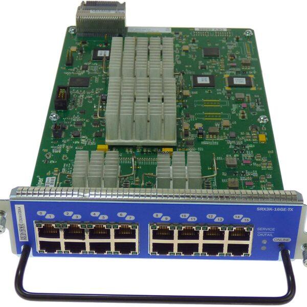 Модуль Juniper 16x 10/100/1000 BASE-T I/O SRX1400 SRX3000 (SRX3K-16GE-TX)