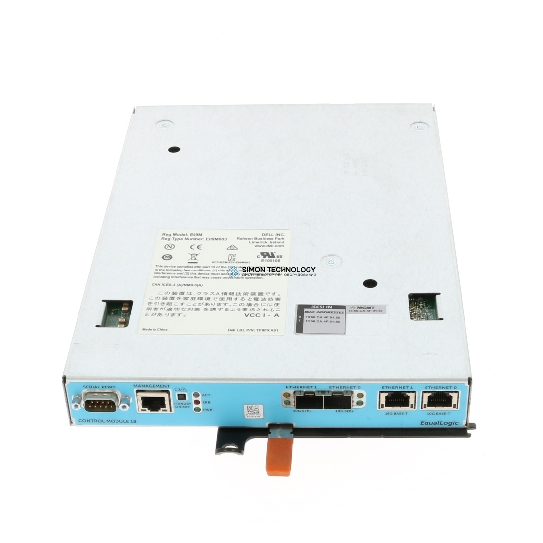 Модуль Dell CONTROLLER EQL TYPE18 PS6610 (T43HT)