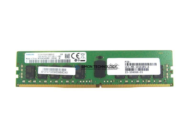 Оперативная память Cisco Cisco DDR4-RAM 16GB PC4-2400T ECC RDIMM 1R - (UCS-MR-1X161RV-A=)