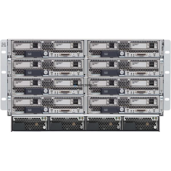 Cisco UCS 5108 Blade Server AC2 Chassis 0PSU/8fans (UCSB-5108-AC2-CH)