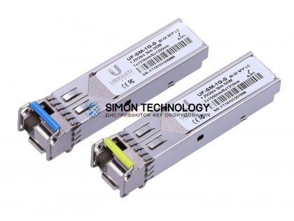 Трансивер SFP Ubiquiti UbiQuiti U Fiber. Single-Mode Module. 1G. BiDi. 1- (UF-SM-1G-S)